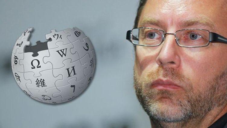 Jimmy Wales, fondateur de l'encyclopédie en ligne Wikipedia  (Vitaliy Belousov / RIA NOVOSTI / AFP)