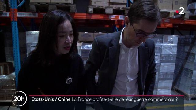 La guerre commerciale entre Pékin et Washington pourrait faire les affaires des producteurs français