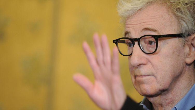"Portrait de Woody Allen pendant la promo de ""To Rome With Love""  (TIZIANA FABI / AFP)"