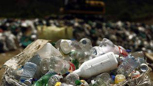 Des bouteilles en plastique destinées à être recyclées, à Garabito (Costa Rica), le 1er juin 2012. (JUAN CARLOS ULATE / REUTERS)