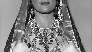 La soprano Mady Mesplé en costume de princesse, en France vers1960. (KEYSTONE-FRANCE / GAMMA-KEYSTONE)