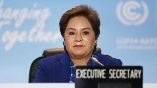 Patricia Espinosa, chargée du climat à l'ONU, lors de la COP 24 en Pologne le 12 décembre 2018. (BEATA ZAWRZEL / NURPHOTO / AFP)