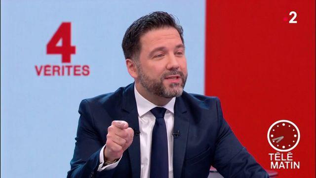 Les 4 vérités - « Laurent Wauquiez me fait honte », dit Hugues Renson, vice-président LREM de l'Assemblée nationale