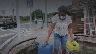 En Guadeloupe, ces habitants lourdement affectés par les pénuries d'eau (France info)