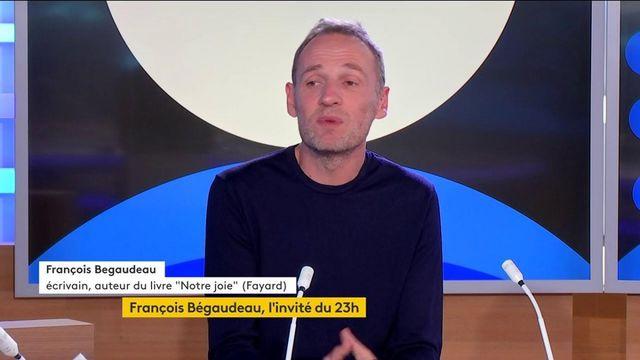"""Culture : dans """"Notre joie"""", François Bégaudeau dépeint une société faite """"de mots"""""""