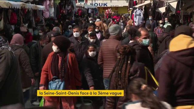 Covid-19 : la Seine-Saint-Denis frappée de plein fouet par la troisième vague