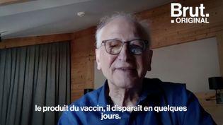 VIDEO. Covid-19 : 12 questions très simples sur les vaccins que vous avez posées à Alain Fischer (BRUT)