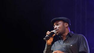 Le chanteur Mc Solaar à Lyon, le 13 octobre 2012. (FAYOLLE PASCAL/SIPA)