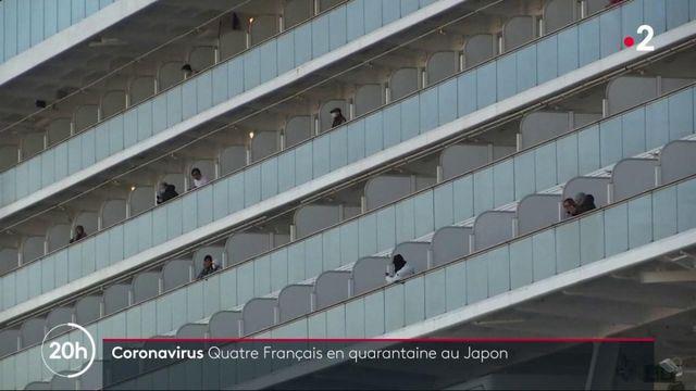 "Coronavirus 2019-nCoV : l'inquiétude des Français à bord du ""Diamond Princess"""