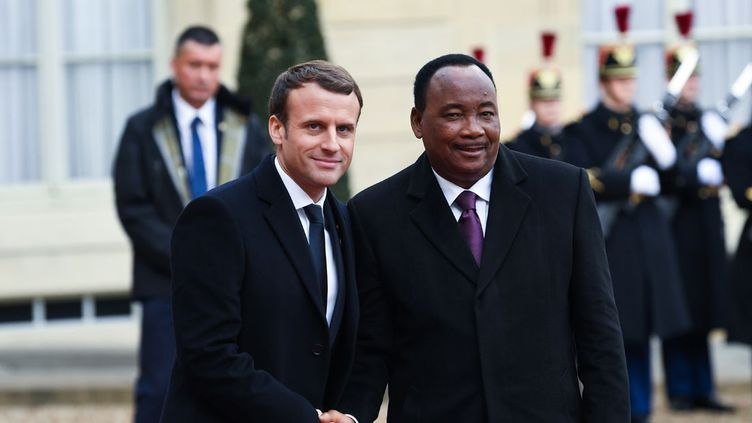 Le président du Niger, Mahamadou Issoufou, a présenté le 13 décembre 2017 à Paris son plan stratégique de développement économique.