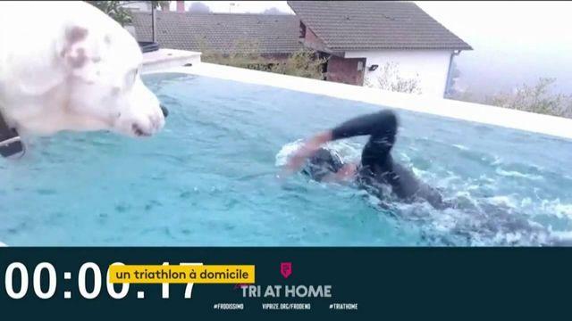 Confinement : un triathlon à domicile