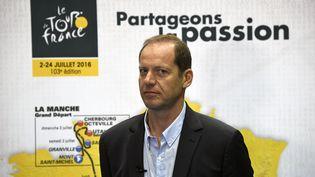 Christian Prudhomme, directeur du Tour de France, en juin 2016 (LIONEL BONAVENTURE / AFP)