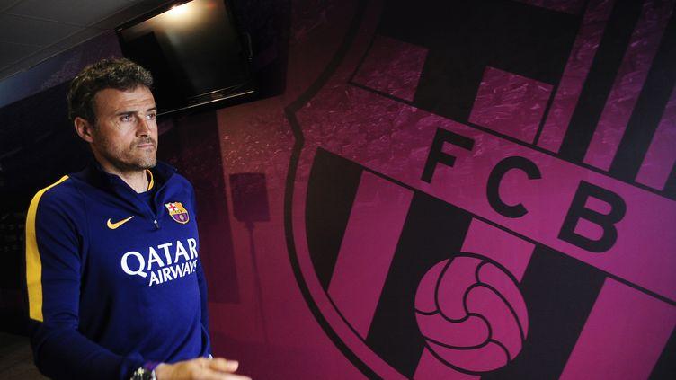 Luis Enrique, coach de l'équipe championne d'Espagne pour la sixième fois en huit ans.  (JOAN CROS / NURPHOTO)