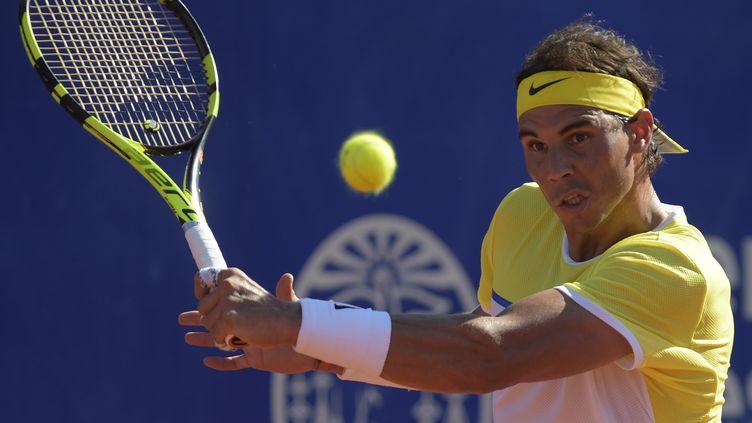 Rafael Nadal fait sa rentrée en Argentine (EITAN ABRAMOVICH / AFP)