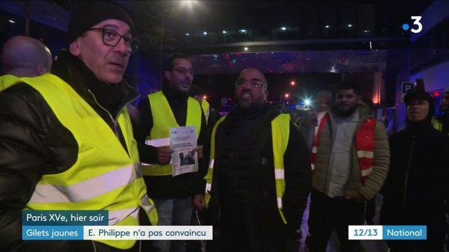 """""""Gilets jaunes"""" : invité du 20 Heures, Édouard Philippe n'a pas convaincu"""