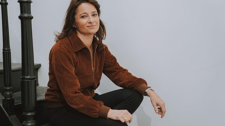 La romancière Nina Bouraoui, librairie Mollat, Bordeaux, le 19 février 2020 (CONSTANT FORME-BECHERAT / HANS LUCAS)
