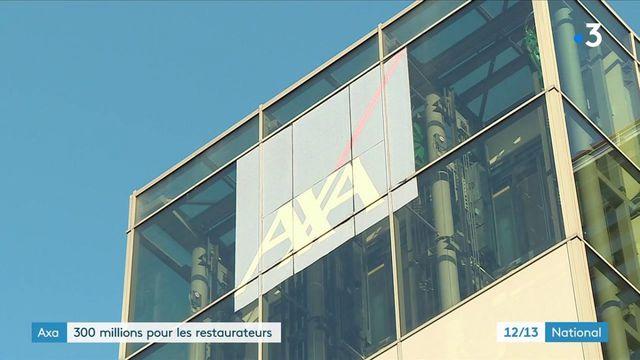 Assurance : Axa va verser 300 millions d'euros à 15 000 restaurateurs