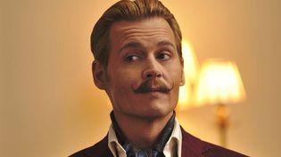 "Johnny Depp dans ""Charlie Mortdecai""  (Metropolitan FilmExport)"