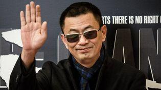"""Wong Kar Wai - le président de la 63e Berlinale, lors de première à Hong Kong de son film """"Grandmaster"""" 8/01/2013  (PHILIPPE LOPEZ / AFP)"""