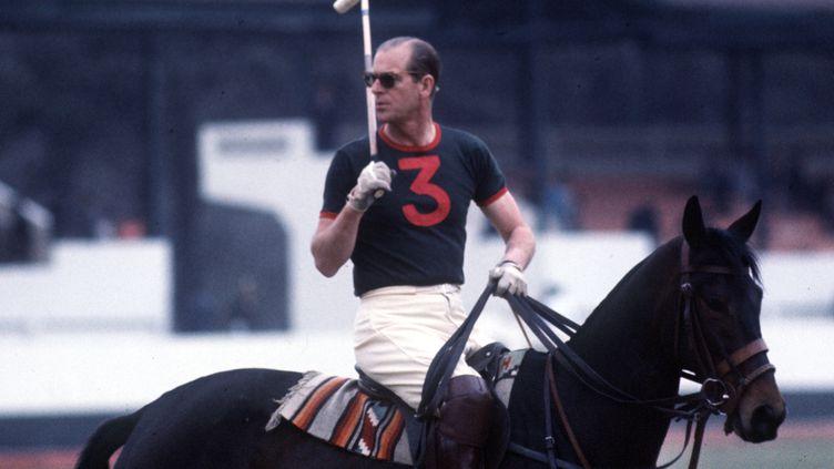 Le Prince Philip, décédé à l'âge de 99 ans, était un passionné d'équitation et bon joueur de polo.  (SVEN SIMON / SVENSIMON)