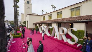 La cérémonie des Oscars à l'Union Station de Los Angeles, le 25 avril 2021. (SIPA/ GETTY IMAGES NORTH AMERICA)