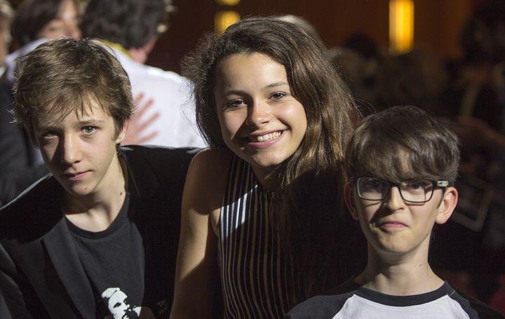 Les trois jeunes comédiens  (Jean-François Lixon)