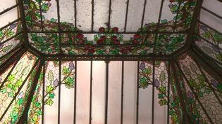 La verrière de style Art nouveau de l'ancien Grand Hôtel de Toulouse (France 3 Midi-Pyrénées)