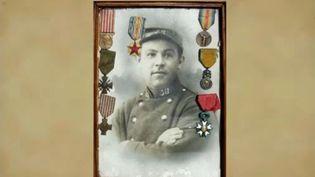 Félix, un soldat français ayant combattu lors de la Première Guerre mondiale. (FRANCE 2)