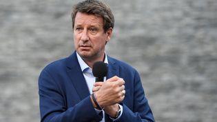 Yannick Jadot, le 24 juin 2021, à Nantes. (SEBASTIEN SALOM-GOMIS / AFP)