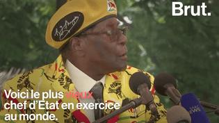 Le président du Zimbabwe Robert Mugabe est le plus vieux chef d'État en exercice au monde. (Brut.)