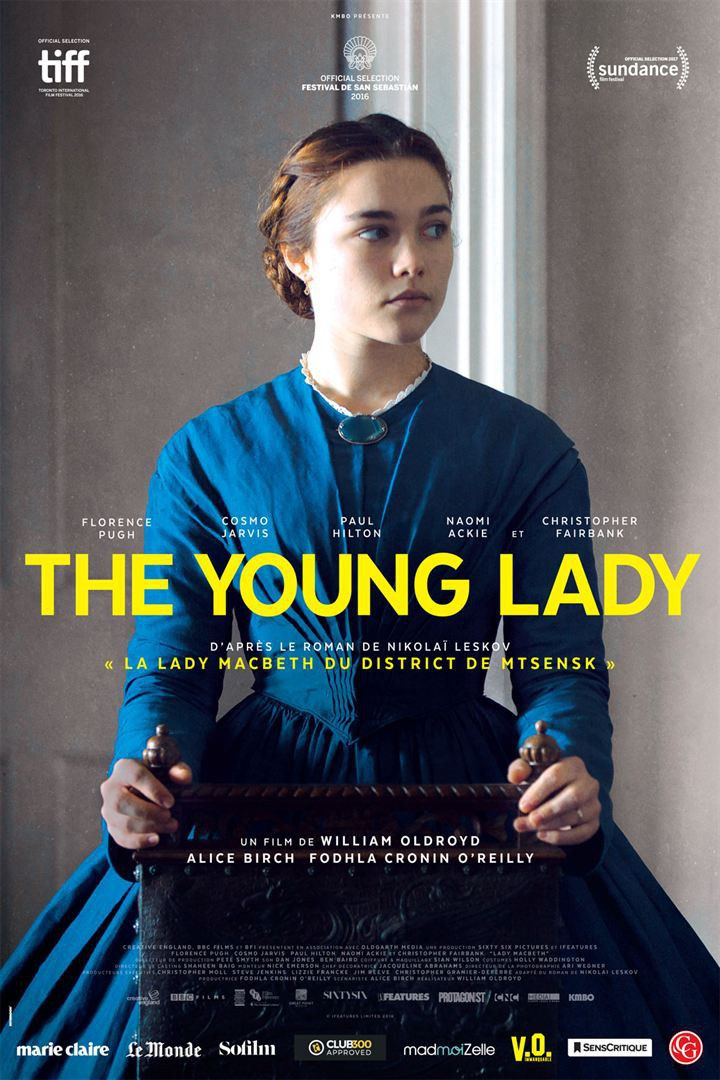 """The Young Lady"" : l'affiche  (KMBO)"