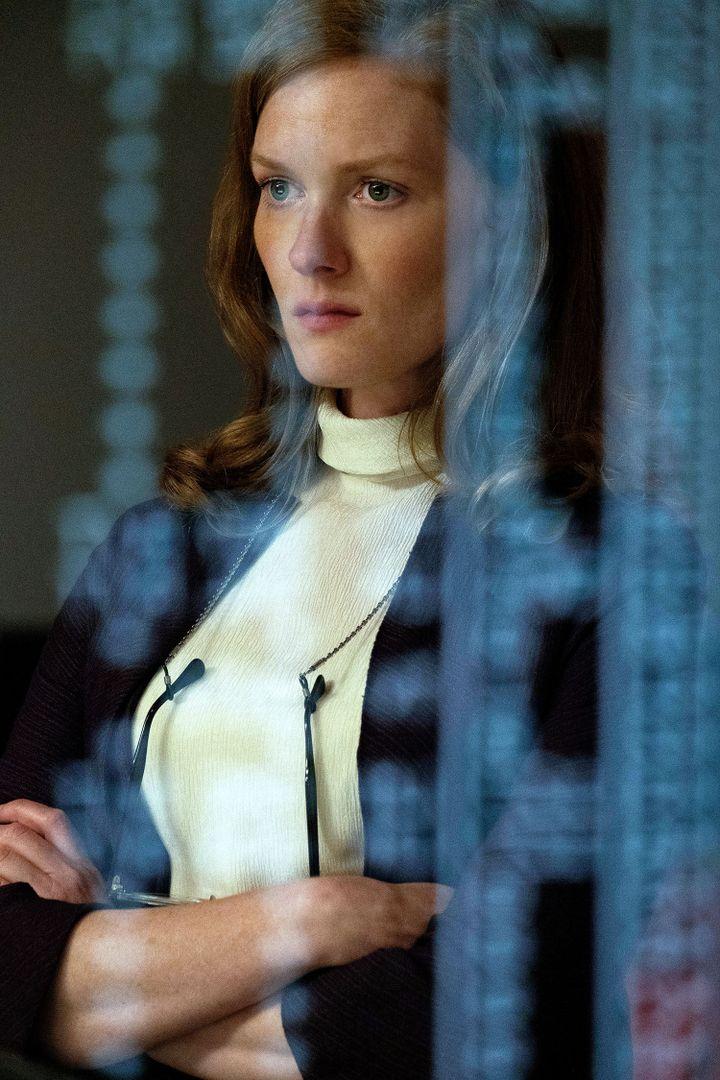 L'actrice américaine Wrenn Schmidt interprète Margo Madison, un personnage fictif qui devient la première femme à travailler dans la salle de contrôle de la Nasa. (APPLETV+)