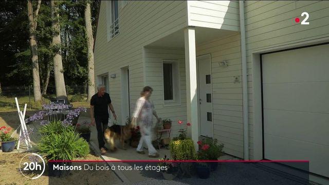 des maisons construites en bois, plus chères mais plus écologiques