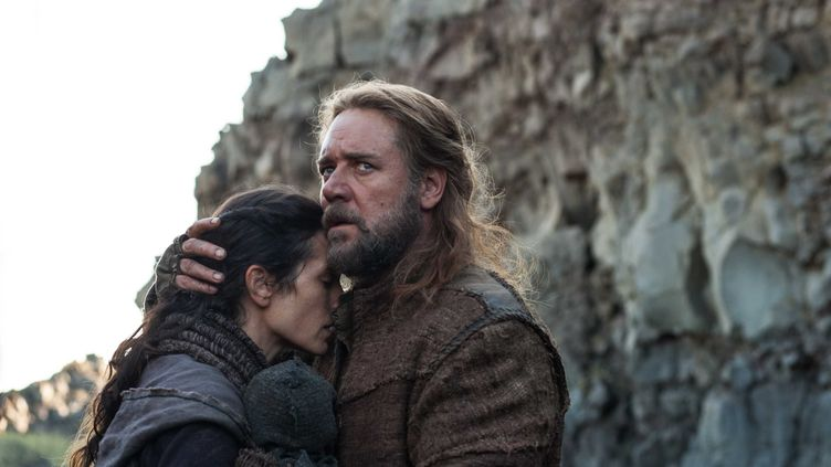 """Russel Crowe et Jennifer Connelly dans le film """"Noé"""", de Darren Aronofsky. (LILO/SIPA)"""