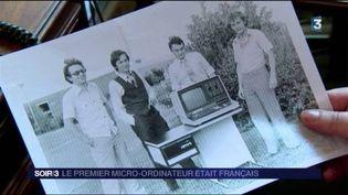 Le premier ordinateur a été conçu par un Français. (FRANCE 3)