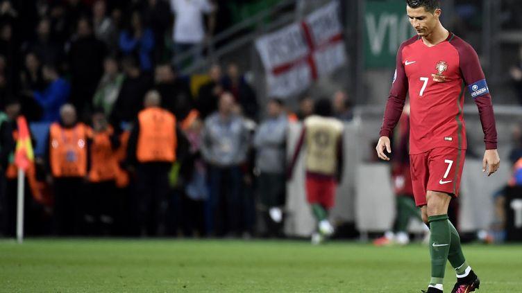 Le joueur portugais Cristiano Ronaldo (JEFF PACHOUD / AFP)