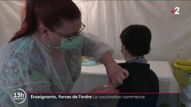 Vaccination contre le covid-19 : au tour des métiers prioritaires