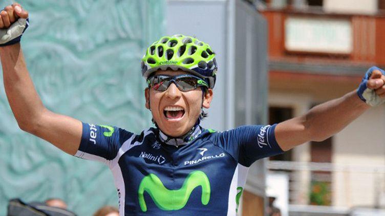 Le Colombien nairo Quintana a fini en solitaire la sixième étape du Dauphiné