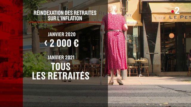 Retraites : bientôt indexées sur l'inflation