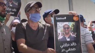Manifestations en Algérie. (FRANCEINFO)