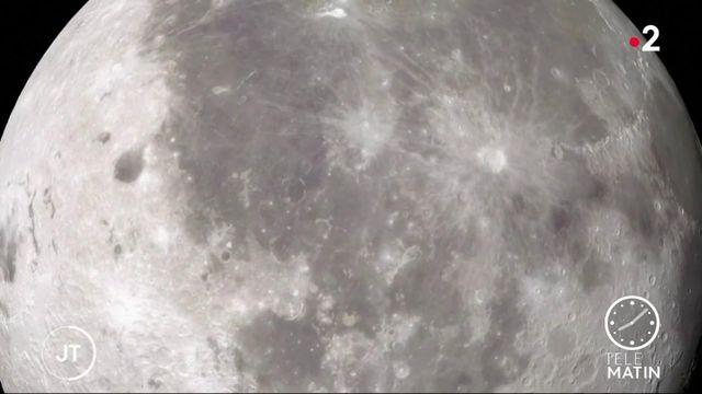 Espace : il y a finalement plus d'eau que prévu sur la Lune