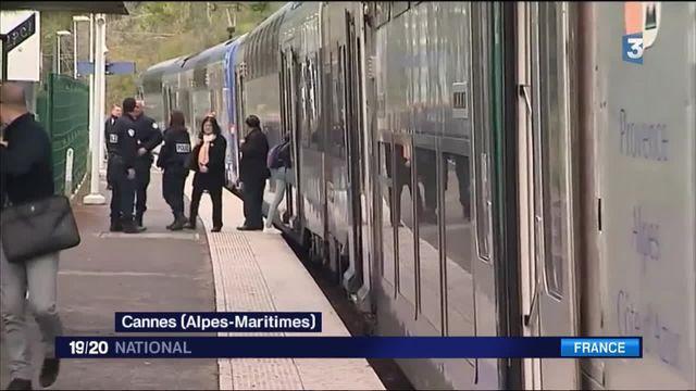 Cannes : agression de plusieurs passagers dans un TER par un groupe d'adolescents