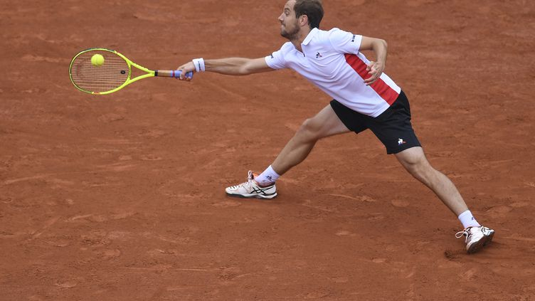 Richard Gasquet lors de Roland-Garros 2017 (GABRIEL BOUYS / AFP)
