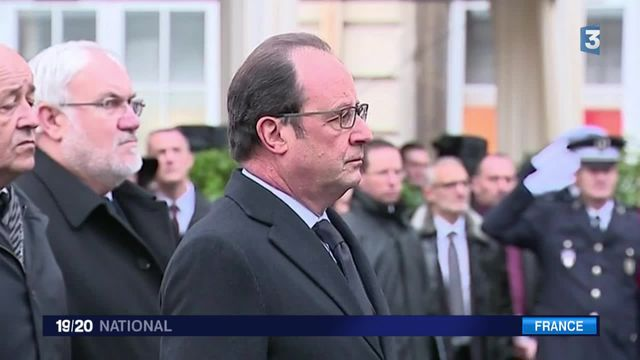 François Hollande a rendu hommage aux forces de sécurité du pays