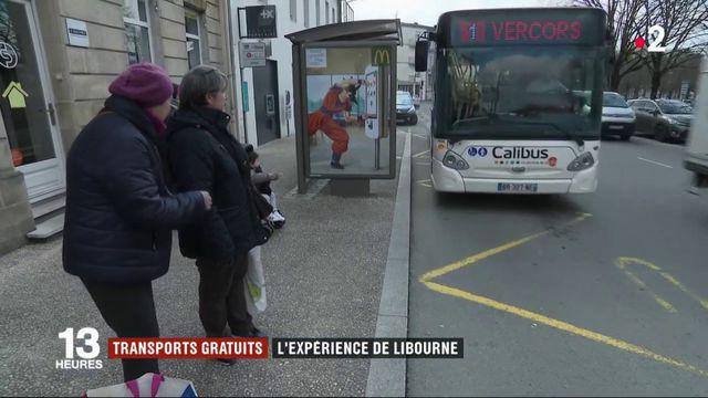 Transports gratuits : l'expérience de Libourne