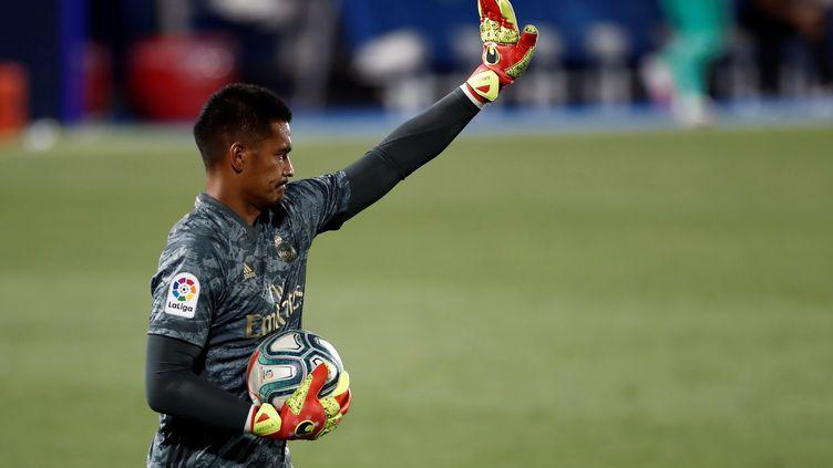 En une saison, Alphonse Areola n'a pas réussi à s'imposer au Real Madrid. (MARISCAL / EFE)