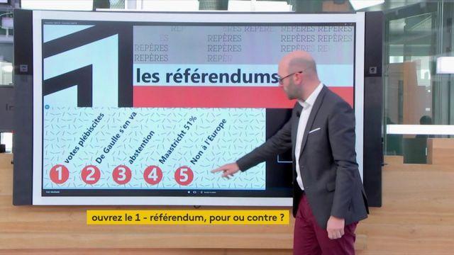 VIDEO. Les référendums organisés sous la Ve République ont d'abord été conçus comme des votes plébiscites