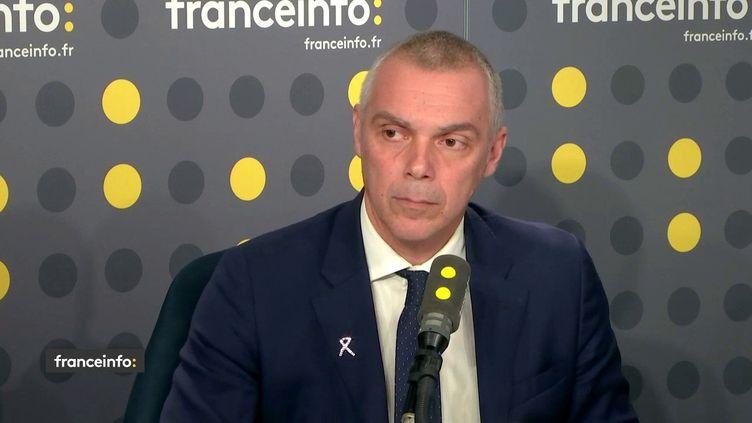 Jean-FrançoisCesarini, député LREM du Vaucluse, invité de franceinfo. (FRANCEINFO / RADIOFRANCE)