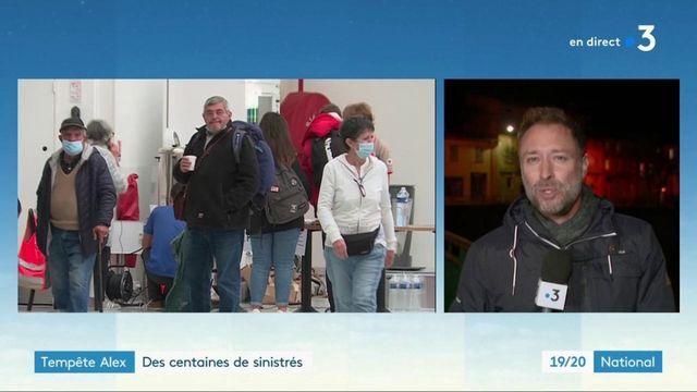 Tempête Alex : des centaines de sinistrés dans les Alpes-Maritimes
