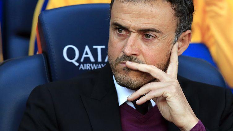 Luis Enrique, coach du FC Barcelone (PAU BARRENA / AFP)